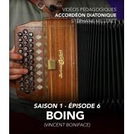 Vidéos pédagogiques - Accordéon diatonique - Saison 1 - Episode 6