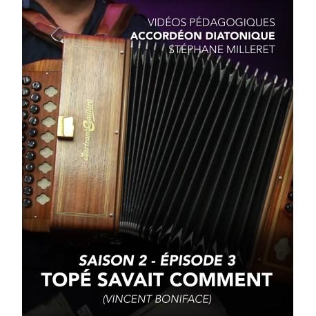 Stéphane Milleret - Vidéos pédagogiques - Accordéon diatonique - Saison 2 - Episode 3
