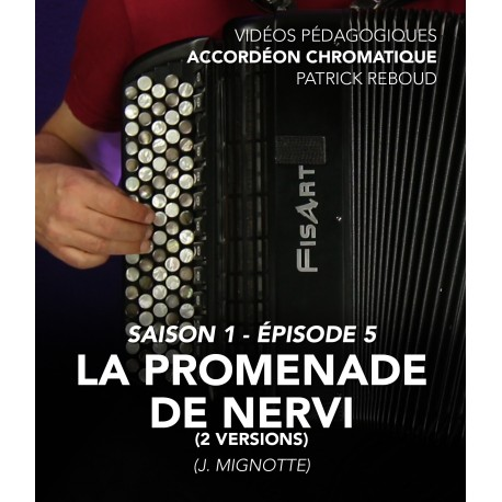 Online teaching videos - chromatic accordion - Season 1 - Episode 5