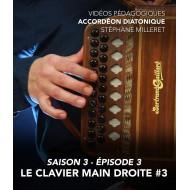 Vidéos pédagogiques - Accordéon diatonique - Saison 3 - Episode 3