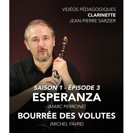 Vidéos pédagogiques - Clarinette - Saison 1 - Episode 3
