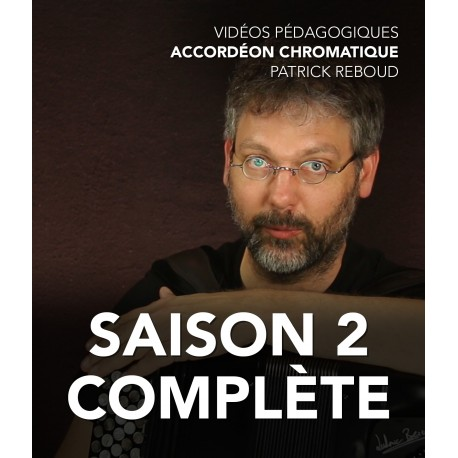 Online teaching videos - Chromatic accordion - The complete second season