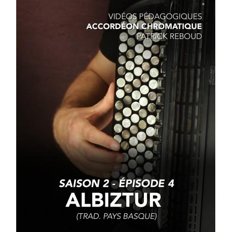 Online teaching videos - chromatic accordion - Season 2 - Episode 4