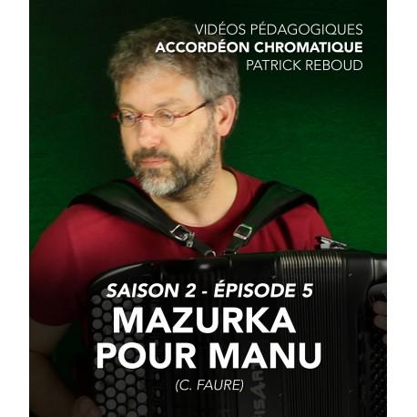 Online teaching videos - chromatic accordion - Season 2 - Episode 5