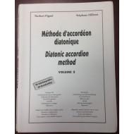 Méthode d'accordéon diatonique volume 2 (Couverture défraîchie)
