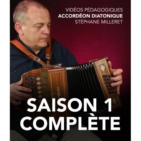 Stéphane Milleret - Accordéon diatonique - Saison 1 complète