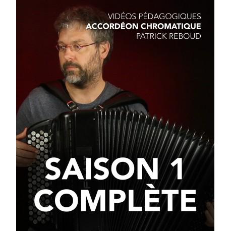 Vidéos pédagogiques - Accordéon chromatique - Saison 1 complète