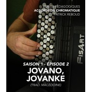 Online teaching videos - chromatic accordion - Season 1 - Episode 2