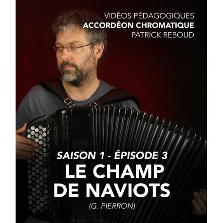 Online teaching videos - chromatic accordion - Season 1 - Episode 3