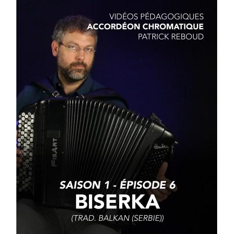 Vidéos pédagogiques - Accordéon chromatique - Saison 1 - Episode 6