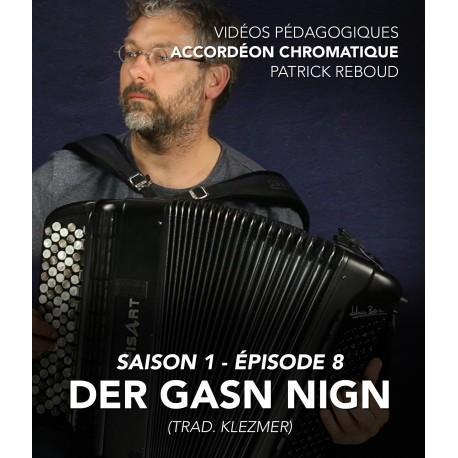 Online teaching videos - chromatic accordion - Season 1 - Episode 8