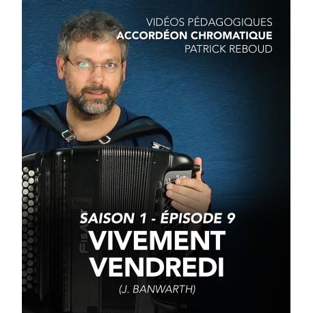 Online teaching videos - chromatic accordion - Season 1 - Episode 9