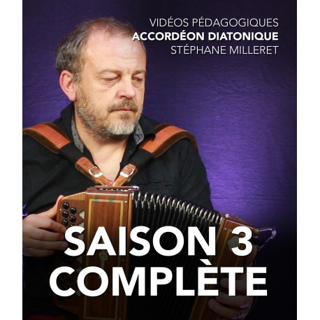 Stéphane Milleret - Melodeon - The complete third season