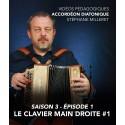 Vidéos pédagogiques - Accordéon diatonique - Saison 3 - Episode 1