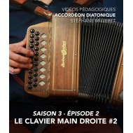 Stéphane Milleret - Melodeon - Season 3 - Episode 2 : The right hand keyboard n°12