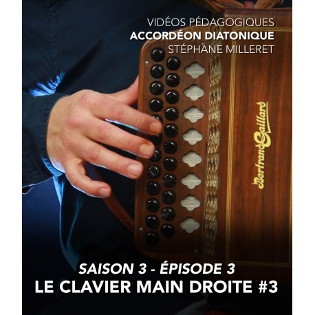 Stéphane Milleret - Melodeon - Season 3 - Episode 3 : The right hand keyboard n°3