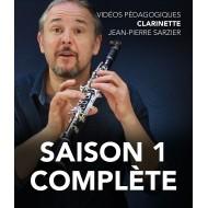 Vidéos pédagogiques - Clarinette - Saison 1 complète