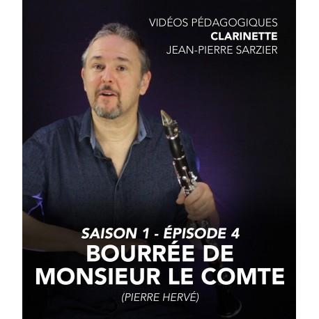 Online teaching videos - Clarinet - Season 1 - Episode 4