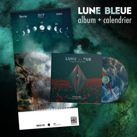 Antiquarks - Pack Album Lune Bleue + Calendrier 2019