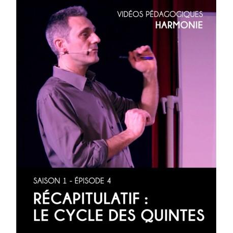 Vidéos pédagogiques - Harmonie - Saison 1 - Episode 4 : Le cycle des quintes