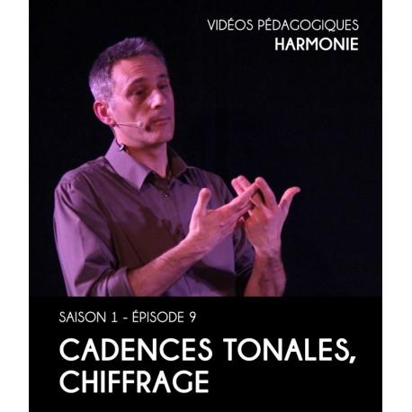 Vidéos pédagogiques - Harmonie - Saison 1 - Episode 9 : Cadences tonales, chiffrage