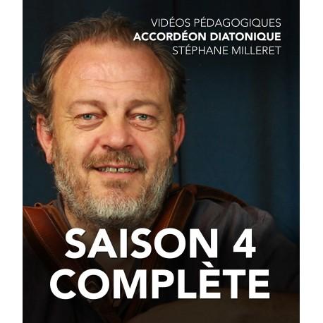 Stéphane Milleret - Accordéon diatonique - Saison 4 complète