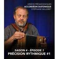 Stéphane Milleret - Accordéon diatonique - Saison 4- Episode 1