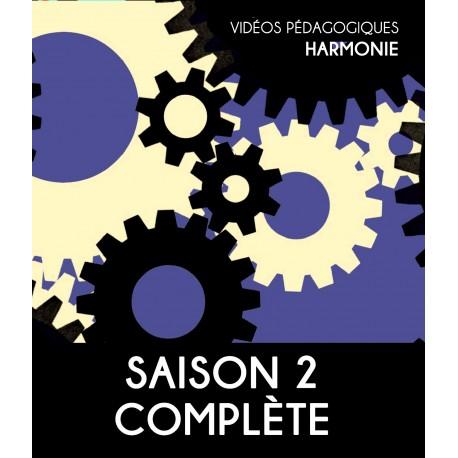Online teaching videos - Harmony - The complete second season
