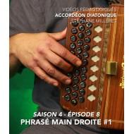 Stéphane Milleret - Accordéon diatonique - Saison 4- Episode 8