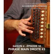 Stéphane Milleret - Accordéon diatonique - Saison 4- Episode 10