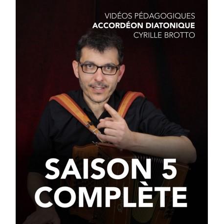 Cyrille Brotto - Online teaching videos - Melodeon - Season 5